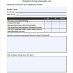 7+ Learner Feedback Form Template