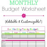 11+ Free Excel Spreadsheet Templates For Budgets