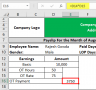 17+ Basic Payslip Template Excel