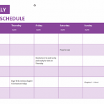 10+ Excel Task Scheduler Template