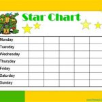 24+ Star Chart For Kids Template