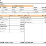 20+ Payroll Slip Template Excel