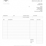 19+ Sample Invoice Template Word