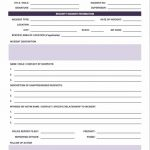 12+ Incident Report Template