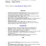 7+ Software Release Notes Template
