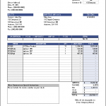 14+ Excel Invoice Template 2010