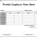 13+ Time Sheets Template Free