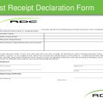 6+ Missing Receipt Form Template