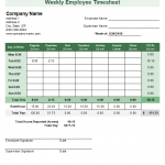 16+ Monthly Time Sheets Template Free