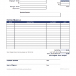 17+ Reimbursement Form Template