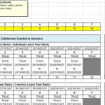 17+ Vacation Tracker Excel Template 2017