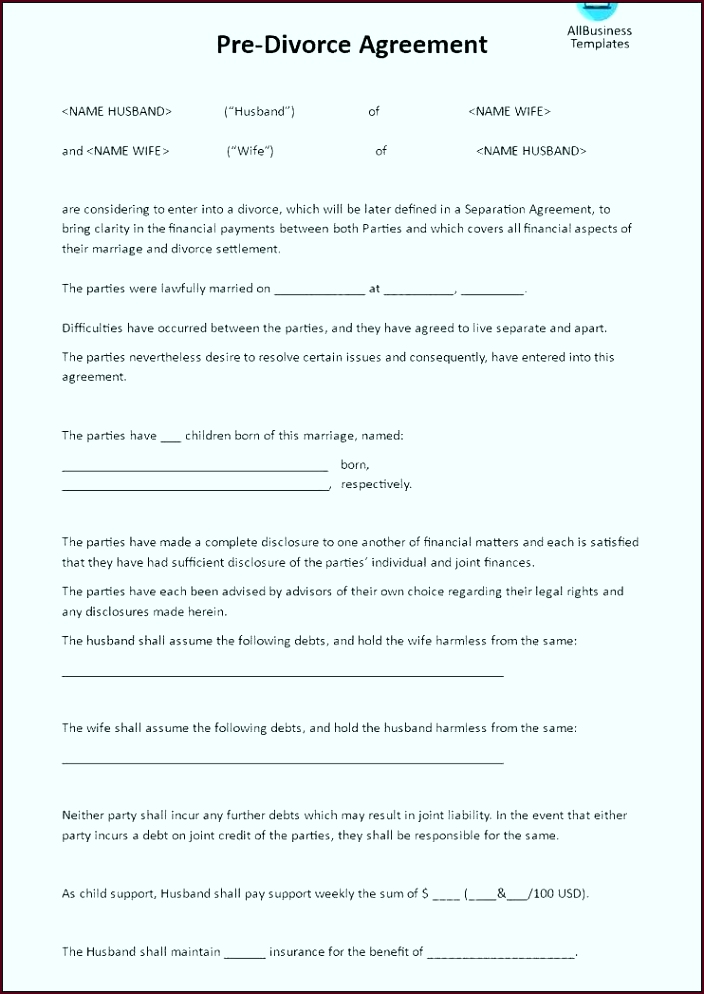 north carolina separation agreement template rooct