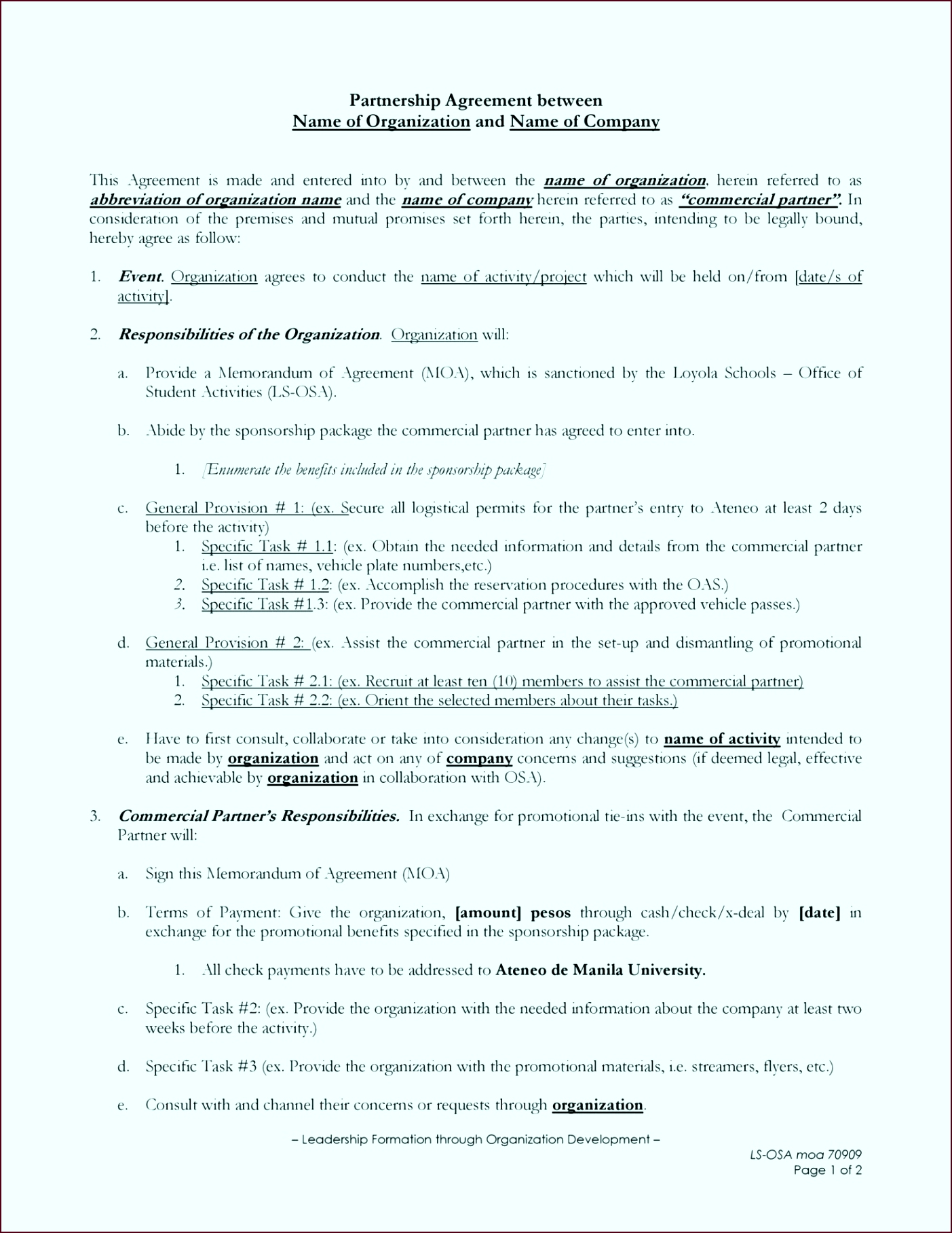 best of mon law separation agreement template riapm