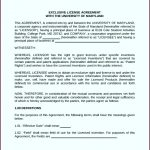 10 software Licence Agreement Template
