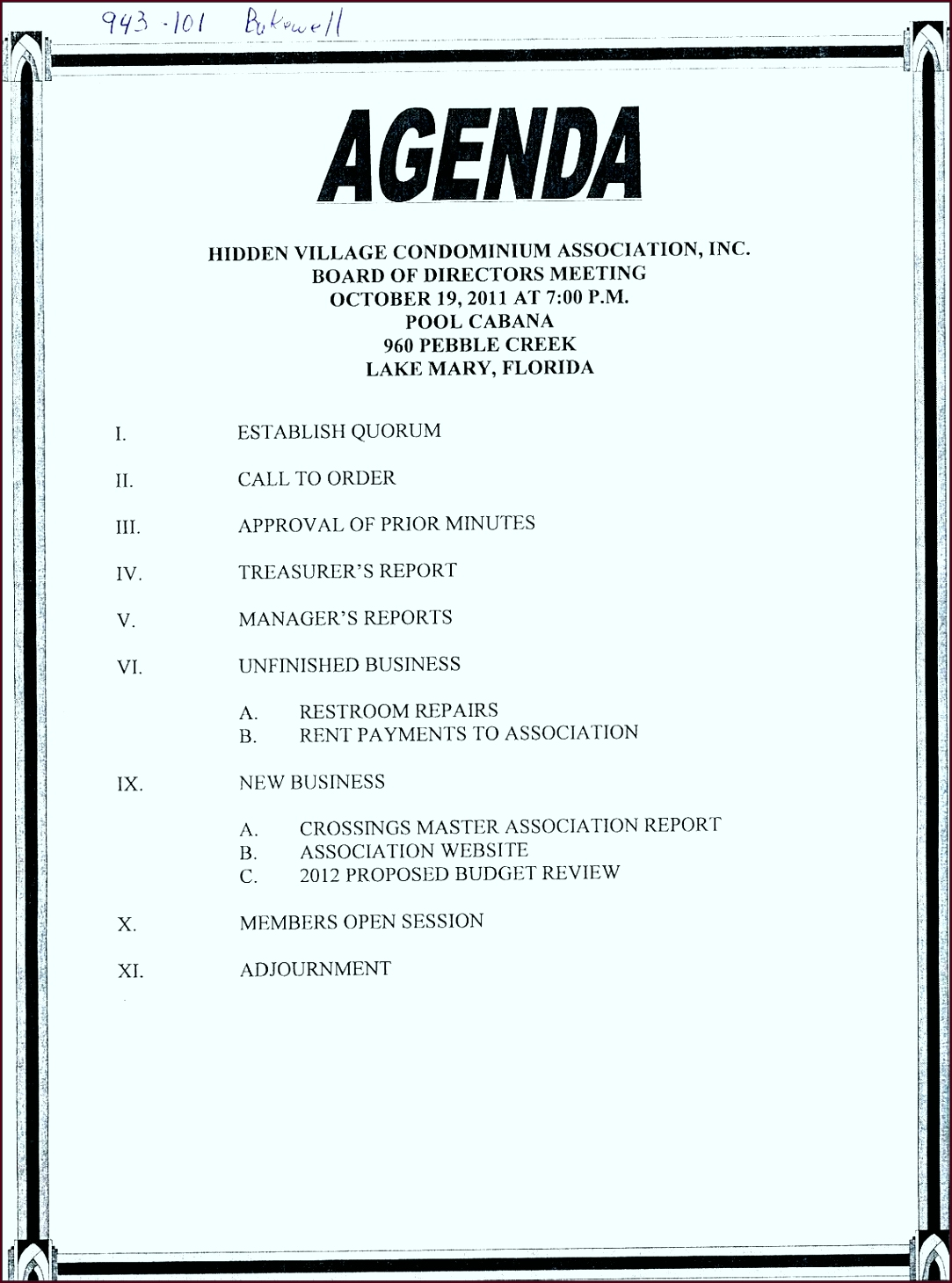 basic meeting agenda template bobup