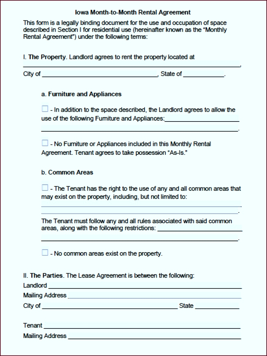 iowa month to month lease agreement iptui