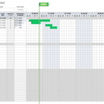 Construction Project Timeline Template