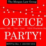 Office Party Invitation Wording